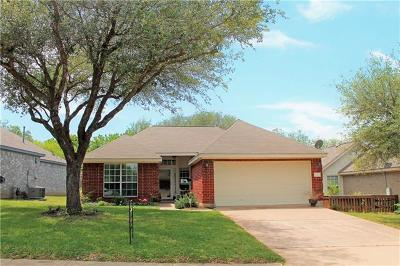 Leander  Single Family Home For Sale: 1503 Parkwood Dr