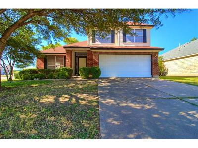 Austin Single Family Home Pending: 15300 Ecorio Dr