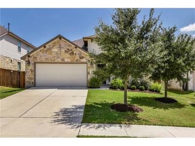 Round Rock Single Family Home For Sale: 3544 Penelope Way