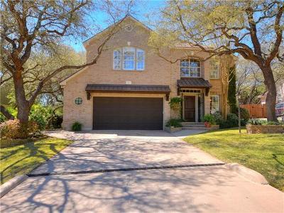 Lakeway Single Family Home For Sale: 105 Deerhorn Ct