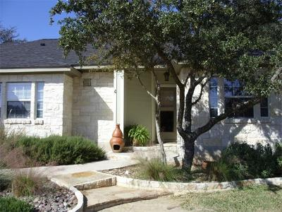 Wimberley Single Family Home For Sale: 4 Sweetwater Cir