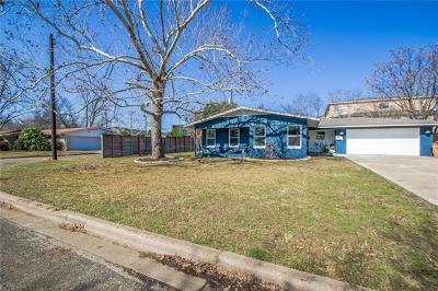 Single Family Home For Sale: 4510 Tejas Trl