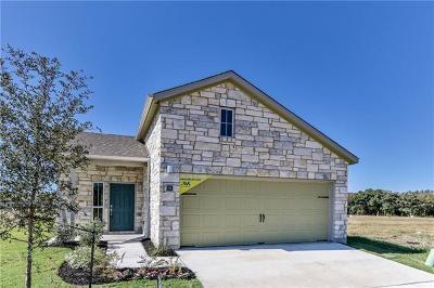 Round Rock Single Family Home For Sale: 2800 Joe Dimaggio Blvd #96