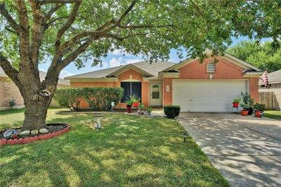 Round Rock Single Family Home Pending - Taking Backups: 3705 Walleye Way