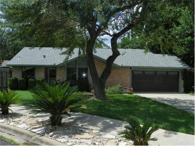 Austin Single Family Home Pending - Taking Backups: 11504 Elk Park Cir