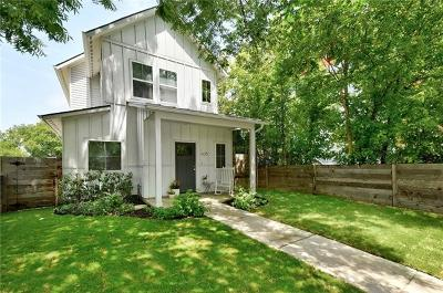 Austin Single Family Home For Sale: 406 N Pleasant Valley Rd
