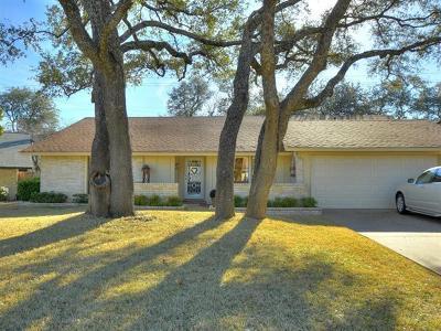 Travis County, Williamson County Single Family Home Pending - Taking Backups: 4411 Bilboa Dr