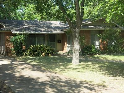Austin Single Family Home For Sale: 1904 Forest Hill Dr