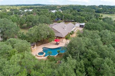 Dripping Springs TX Single Family Home For Sale: $765,000