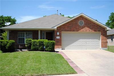 Round Rock Single Family Home For Sale: 205 Chandler Crossing Trl
