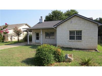 Wimberley Single Family Home Pending - Taking Backups: 6 Happy Hollow Ln