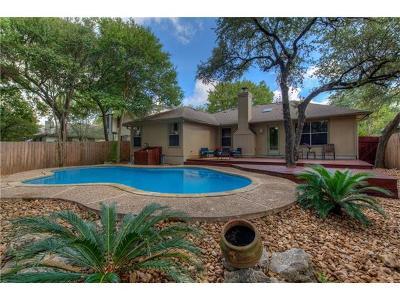 Cedar Park Single Family Home Pending - Taking Backups: 821 Brook Meadow Trl