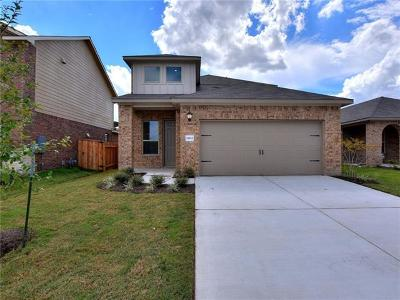 Manor Single Family Home For Sale: 11821 Sandy Lodge Ct