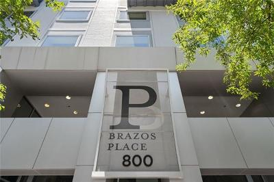 Condo/Townhouse For Sale: 800 Brazos St #1002