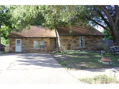 Round Rock Single Family Home For Sale: 404 Buckboard Blvd