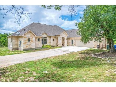 Liberty Hill Single Family Home Active Contingent: 255 N Showhorse Dr