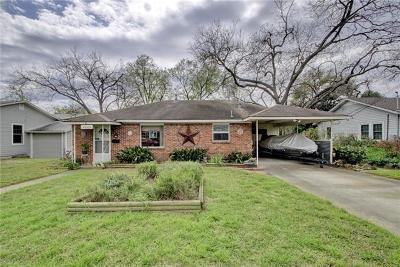Austin Single Family Home For Sale: 1209 Alegria Rd