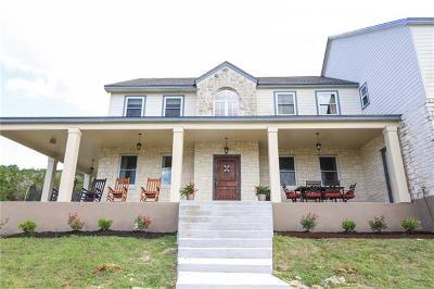 Leander Single Family Home Pending: 11705 White Rim Ter