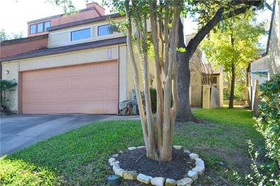 Austin Condo/Townhouse For Sale: 5207 Langwood Dr