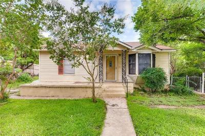 Hays County, Travis County, Williamson County Single Family Home Pending - Taking Backups: 2402 S 3rd St