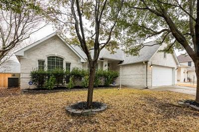Round Rock Single Family Home Pending - Taking Backups: 3711 Geese Rte