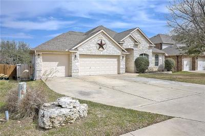 Cedar Park Single Family Home Pending - Taking Backups: 508 King Eider Ln
