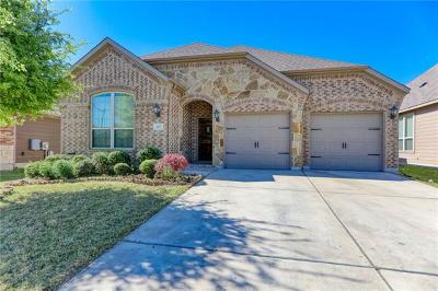 Hutto Single Family Home For Sale: 107 Palestine Cv