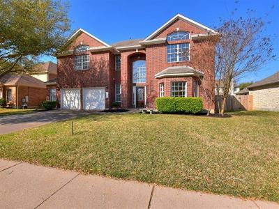 Cedar Park Single Family Home For Sale: 1309 Pagedale Dr