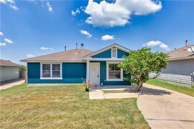 Manor Single Family Home Pending - Taking Backups: 11916 Lima Dr