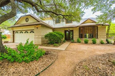 Travis County Single Family Home Pending - Taking Backups: 1700 Pheasant Roost