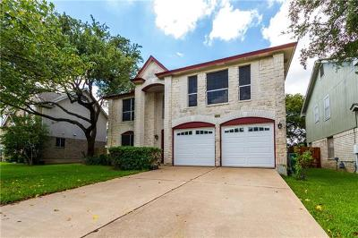 Cedar Park Single Family Home For Sale: 2712 Buckeye Trl