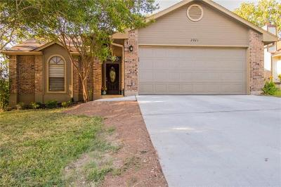 Round Rock Single Family Home Pending - Taking Backups: 2021 Yaupon Trl