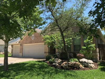 Cedar Park Single Family Home Pending - Taking Backups: 1808 Nicholas Zane Dr