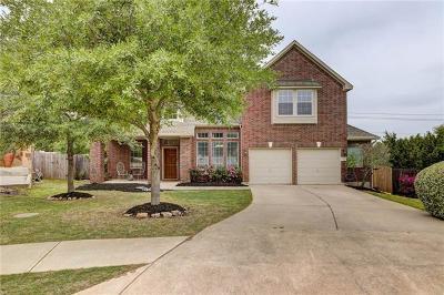 Austin Single Family Home Pending - Taking Backups: 12725 Belcara Pl