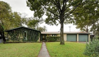 Austin Single Family Home For Sale: 1301 Berkshire Dr