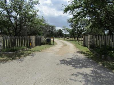 Liberty Hill Farm For Sale: 3950 N Hwy 183 Hwy S