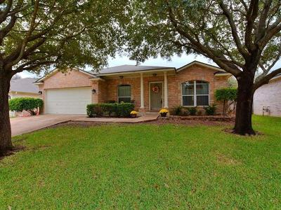 Round Rock Single Family Home Pending - Taking Backups: 3238 Arroyo Bluff Ln