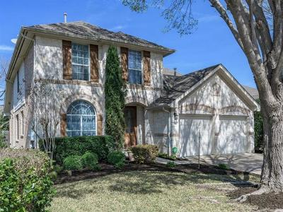Round Rock Single Family Home For Sale: 2928 Laurel Grove Way