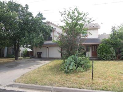 Round Rock Rental For Rent: 1805 Fawn Ridge Trl