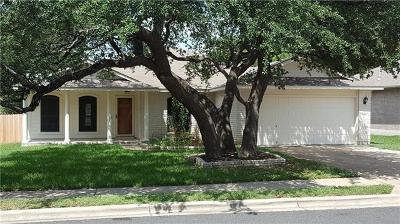 Leander Single Family Home For Sale: 3306 Zinfandel Ln