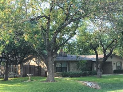 Lakeway Single Family Home For Sale: 307 Lakeway Dr