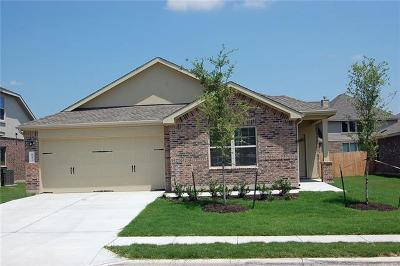 Leander Single Family Home For Sale: 841 Hillrose Dr