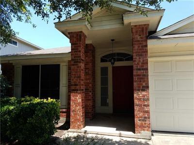 Cedar Park Single Family Home For Sale: 612 Fence Post Pass