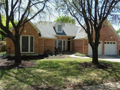 Travis County Single Family Home Pending - Taking Backups: 1509 Braided Rope Dr