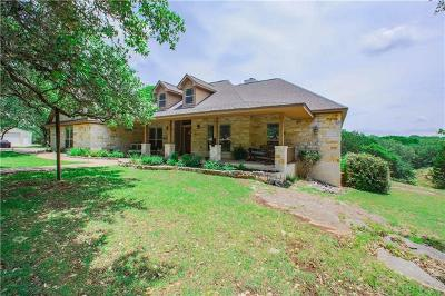 Dripping Springs Single Family Home For Sale: 618 Beauchamp Rd
