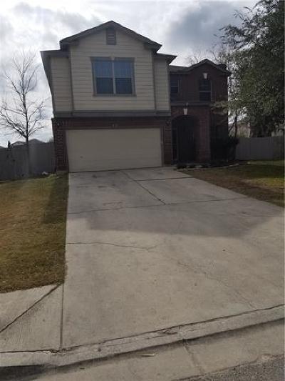 Kyle Single Family Home For Sale: 631 Abundance Ln