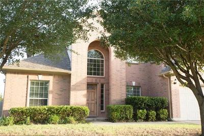 Single Family Home For Sale: 2509 Pumpkin Ridge Ct