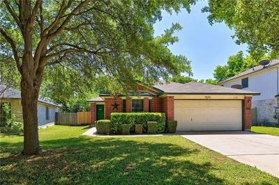 Round Rock Single Family Home For Sale: 3143 Jazz St