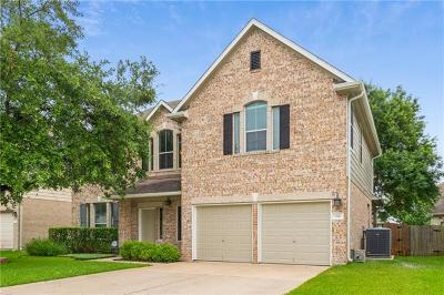 Round Rock Single Family Home For Sale: 3511 Eagles Nest St