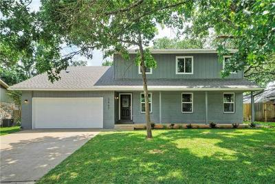 Austin Single Family Home Active Contingent: 3907 Tamarack Trl